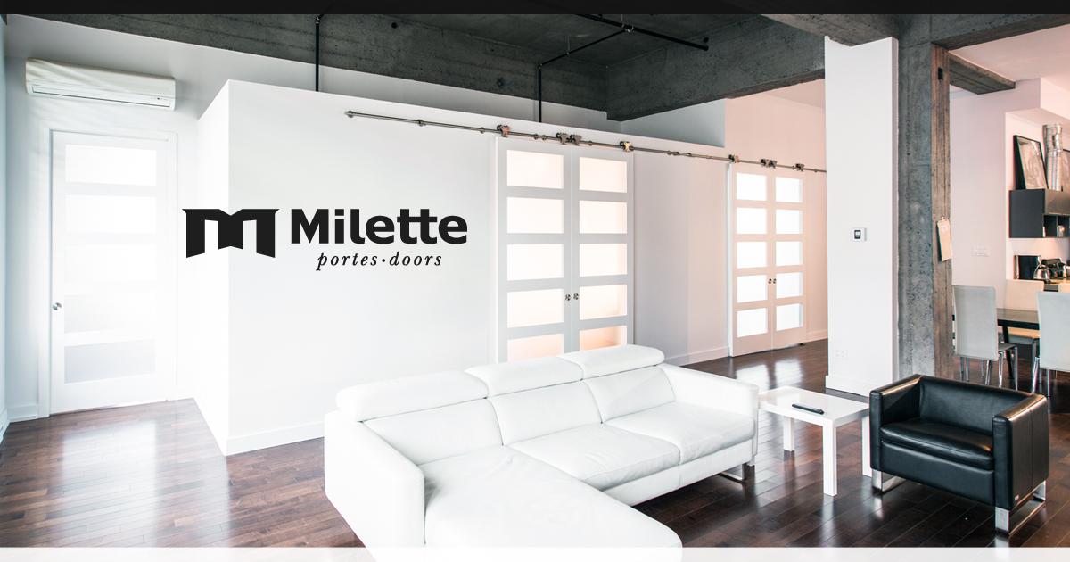 Portes milette doors